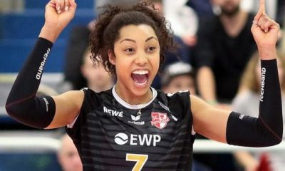 Nia Grant Lardini volley