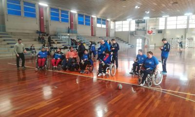 Wheelchair handball chiaravalle